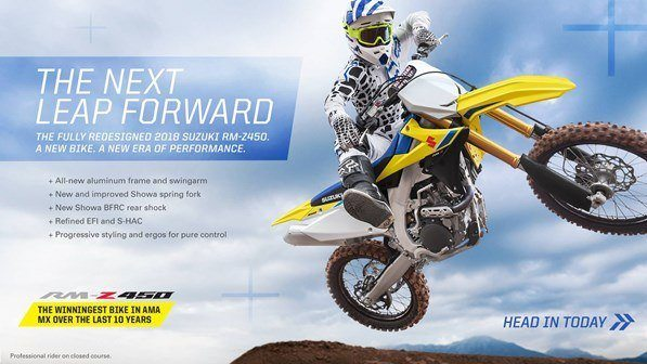 Suzuki Ride into the New Year with Motocross and Offroad Models