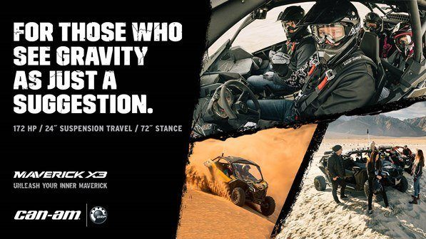 CAN-AM HOLIDAY BLITZ SALES EVENT- Maverick X3